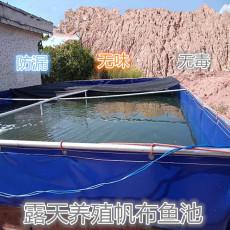 养殖环保虾类鱼苗水池 帆布鱼池储水池