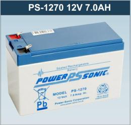 PS-12120L法国Power Sonic蓄电池12V12AH