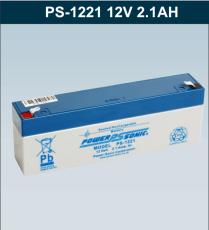 PS-1221VdS原装Power Sonic蓄电池12V2.1AH