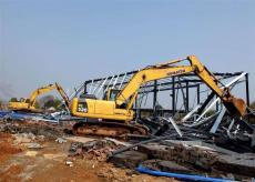 舟山拆迁工厂设备回收二手工厂设备拆迁