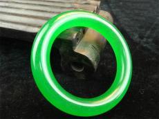 哪里有满绿翡翠手镯正规鉴定机构