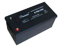 BUDDY铅酸蓄电池6-FM-100 12V100AH控制开关