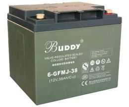 BUDDY铅酸蓄电池6-GFM-38 12V38AH系列说明