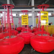 红色禁航浮标海上高分子聚乙烯浮标价格