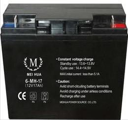 MEIHUA蓄電池6-MH-12 12V12AH經銷商報價