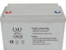 MEIHUA蓄電池6-MH-100 12V100AH報價參數