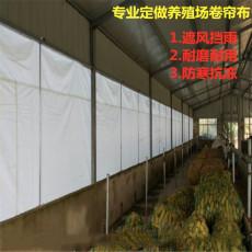 大量批发养殖卷帘布 订做环保鸡舍卷帘保暖
