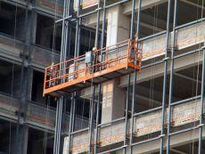 高层建筑物的外墙施工等电动吊篮专用