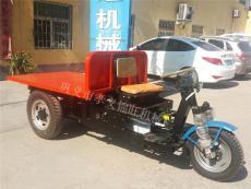 60V电动平板车厂家批发工地运输三轮纯电动