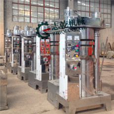 全自动芝麻香油炸油机 立式液压榨油机厂家