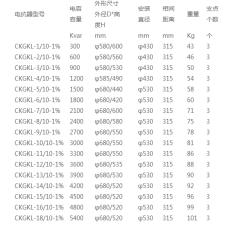 CKGKL-216斜杠35-12干式空心电抗器