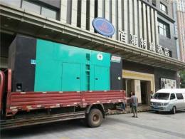 三江鎮發電機出租租賃本地發電機出租廠家