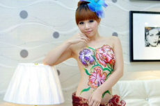 模特走秀外籍模特外国模特礼仪服务人体彩绘