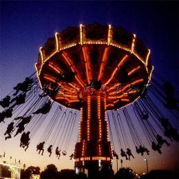 高空飛椅游樂設施24座搖頭旋轉飛椅