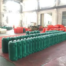 水庫大量漂浮垃圾攔污浮筒