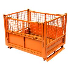 出售底部开门式周转箱自卸铁筐金属废料箱