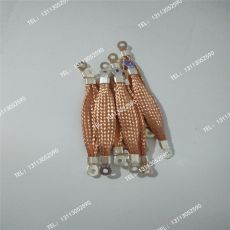 柔性導電銅索 防雷銅導線 銅質防雷連接線