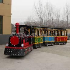戶外游樂設備電動小火車熱銷兒童小火車