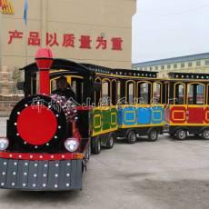 戶外兒童游樂設備小火車廣場兒童無軌道小火