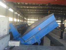 临河区散料快速卸车液压翻板自动卸车机