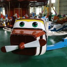 廠家直銷大型旋轉升降自控飛機游樂設備