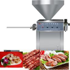 电动小型灌腊肠机-手动绞肉灌肠一体机-红肠