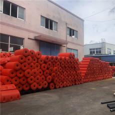 瀏陽河攔物浮桶直徑20公分攔漂排加工