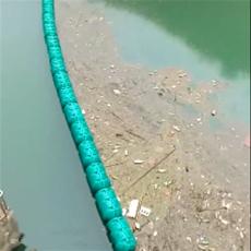 水下掛網攔污浮箱取水口欄漂設施