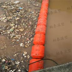 芙蓉江漂浮大量垃圾攔截裝置浮筒式攔污排