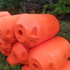 桶狀攔污浮排塑料攔漂浮筒生產介紹