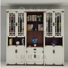簡約全鋁書柜定制 全鋁家居批發 鋁合金書柜