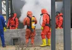 學校新生消防軍訓演習防遠紅外線專用發煙機