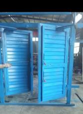 矿用百叶式调节风窗插板式和利隆调节风门风