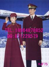 空姐毛呢冬季大衣 南航空姐同款冬季长款呢