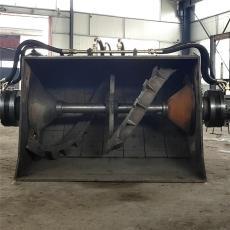 洗沙拌料的搅拌型铲车 夏工50装载机洗沙斗