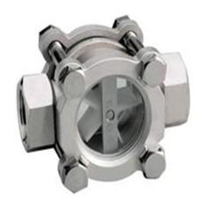 船用DIN型可視流量表  葉輪視鏡液體流量計