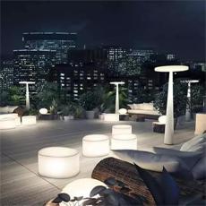 灯光艺术装置在园林中的设计及应用
