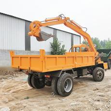 陕西挖掘机厂家直销车载挖掘机 挖掘运输车