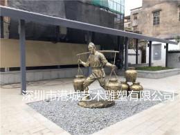 玻璃钢劳动人物雕塑城市建设民族人雕像