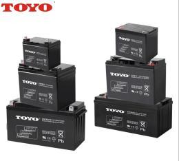 TOYO东洋铅酸蓄电池6GFM34 12V34AH储能电源