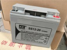 KE蓄电池SS12-24金能量/铅酸12V24AH免维护