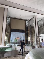 酒店不銹鋼裝飾效果
