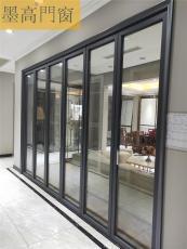 墨高門窗廠家供應時尚高端典雅的雙向折疊門