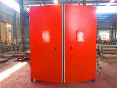 和利隆礦用鋼結構聯鎖減壓風門的產品特