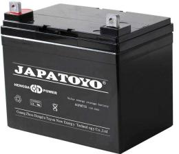 JAPATOYO蓄电池6GFM17 12V17AH机房配套
