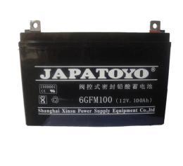 JAPATOYO蓄电池6GFM24 12V24AH通讯系统