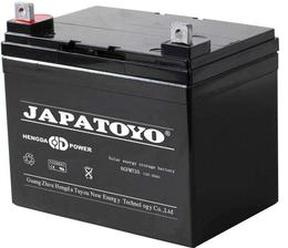 JAPATOYO蓄电池6GFM28 12V28AH储能系列