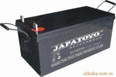 JAPATOYO蓄电池6GFM100 12V100AH产品报价