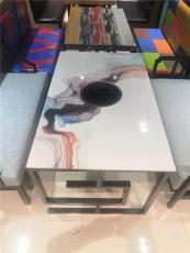 餐厅实木桌椅大理石桌椅五金桌椅