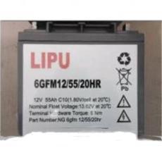 力普蓄电池6GFM12v65AH技术参数